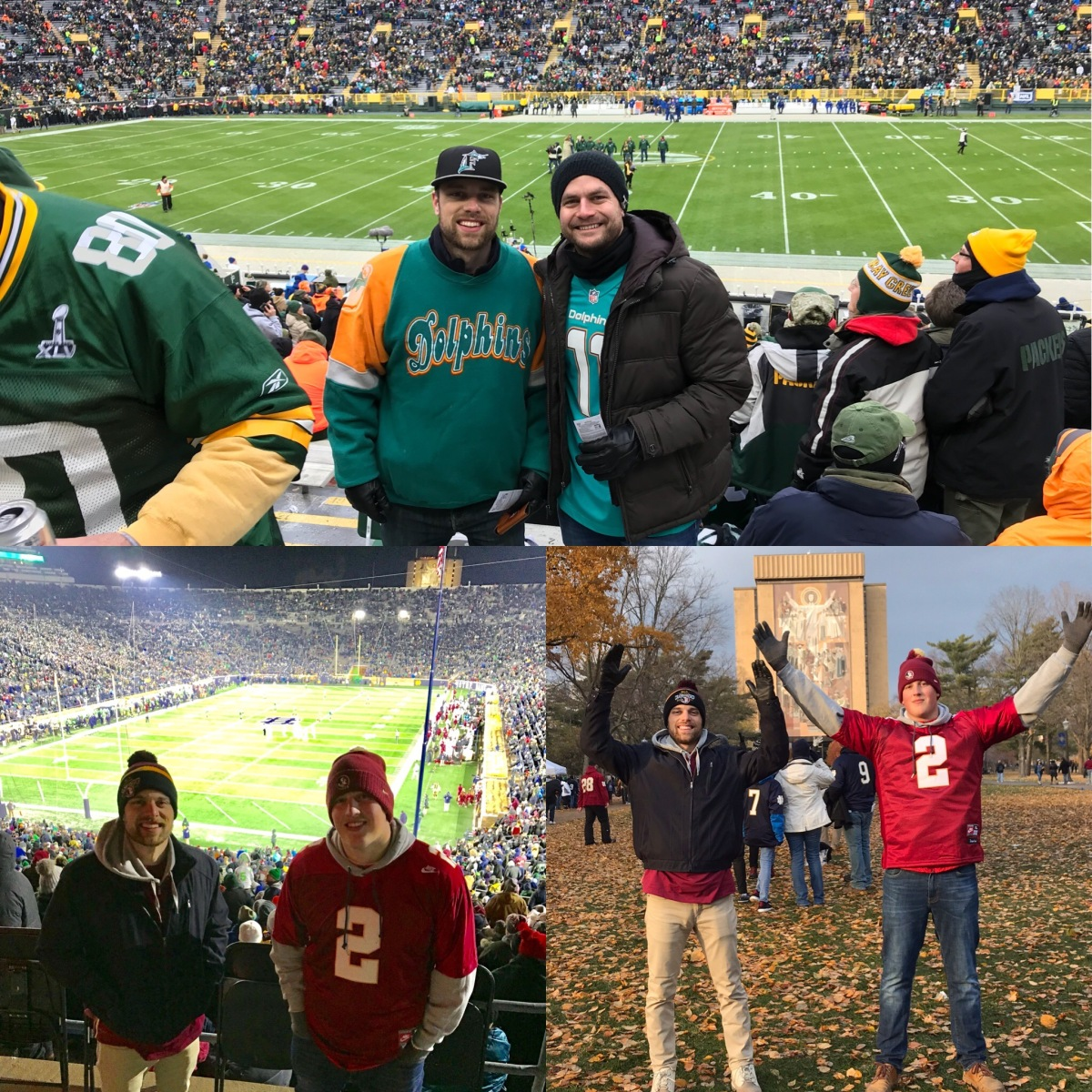 Three Great Friends, Two Iconic Stadiums, One Epic Weekend